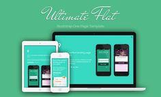 Flat Websites Design : 32 New Flat Web Design Examples 2 #flatdesign #flatuidesign #flatwebsites #flatwebdesign