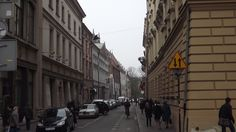 Krakow; oldtown headed back to downtown: