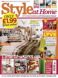 70 Best Style At Home Covers Images Style At Home Journals House