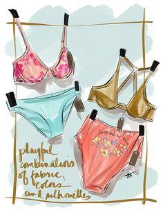 003f4d9837 Inspiration From Paris ~ Interfiliere A W 2020 - Lingerie Briefs ~ by Ellen  Lewis