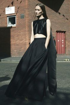 Goth Summer: http://intothegloss.com/2014/05/dark-summer-clothes/