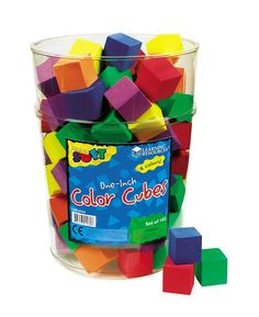 Amazon.com: Learning Resources Hos Color Cubes (Set of 102): Office Products