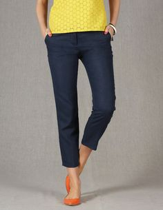 7cc77715cde6 View All. Navy Pants OutfitSlacks For WomenCropped ...
