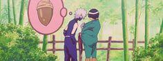 <3 Kakashi (aka: Elephant trunk) & Gaii (aka: Acorn)