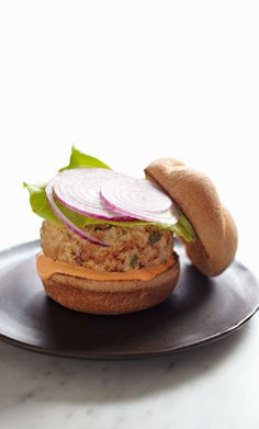 Five-Spice Turkey Burgers from familycircle.com #myplate #kidfriendly #turkey #protein