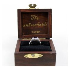 Harry Potter Ring Box ❤ liked on Polyvore featuring home and home decor