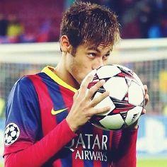 Neymar Jr after his hat trick FC Barcelona