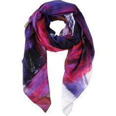 CHRISTOPHER KANE Oblong scarf ($260) ❤ liked on Polyvore