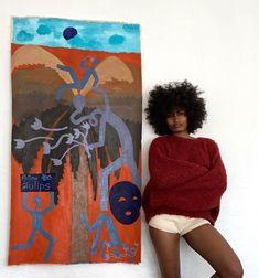 Art Hoe Aesthetic, Black Girl Aesthetic, Afro Art, Hippie Art, Black Artists, Belle Photo, Art Boards, Creative Art, Art Inspo