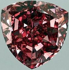 The Earth Star Diamond was found at the Jagersfontein Mine. The diamond came from the 2,500-foot (760 m) level of the volcanic diamond-bearing pipe. The rough gem weighed 248.9 carats (49.78 g) and was cut into a 111.59 carats (22.318 g) pear-shaped gem with a strong brown color and extraordinary brilliance.