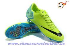 newest collection 137d7 efcb2 Mercurial Vapor X FG Vert Noir FT6282 Zapatillas Nike Baratas, Botines De  Fútbol, Botas