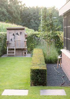 Sunken Trampoline, Contemporary Garden Rooms, Outdoor Furniture Sets, Outdoor Decor, Play Houses, Garden Inspiration, Garden Design, Pergola, Home And Garden