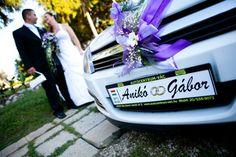 Esküvői rendszámtábla 1