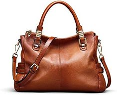 Looking for S-ZONE Women Genuine Leather Handbag Shoulder Purse Satchel Tote Crossbody Bag ? Check out our picks for the S-ZONE Women Genuine Leather Handbag Shoulder Purse Satchel Tote Crossbody Bag from the popular stores - all in one. Shoulder Purse, Shoulder Handbags, Leather Purses, Leather Handbags, Leather Bags, Leather Jackets, Purses And Handbags, Cheap Handbags, Luxury Handbags