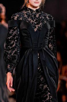 Ulyana Sergeenko   Fall 2013 Couture
