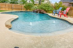 Paradise Oasis Pools is a pool and hot tub company offering services from last 4 years in College Station Texas. Swimming Pool Landscaping, Swimming Pool Designs, Backyard Pool Designs, Pool Backyard, Walk In Pool, Pebble Tec Pool, Oasis Pool, Aqua Pools, Lagoon Pool