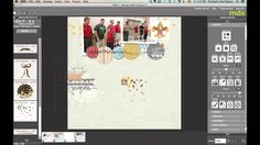 How to create Star Sequins with My Digital Studio. Stampin' Up!, Digital Scrapbooking, www.stampinbythesea.com