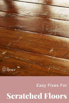 Got scratches on your wood flooring? This tutorial will help you fix light & minor scratches or deep gouges so they look like new again!