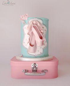 Sweet Ballerina Cake by Cake Heart