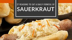 More benefits to eating or making sauerkraut than you know. Healthful, playful and practical benefits of sauerkraut to inspire you to add it to your diet.