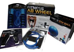 Exercise Equipment Set Wrist Builder, Resistant Band, Jump Rope with Counter, Gym Ball and Ab Wheel Kole http://www.amazon.com/dp/B0182KPJNM/ref=cm_sw_r_pi_dp_jnEWwb1AY5147