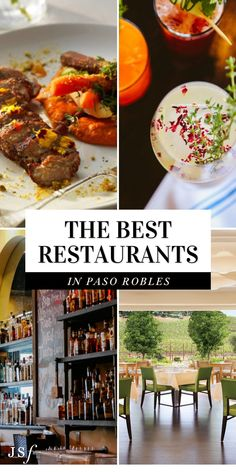 Calling all foodies! If you happen to find yourself in Paso Robles and are looking for a fabulous dining experience, check out my guide to Paso Robles Best Restaurants! With a variety of choices and different styles of cuisines, Paso Robles has a great selection for anyone and everyone. I hope you enjoy! Wine Recipes, Mexican Food Recipes, Great Recipes, Ethnic Recipes, Restaurant Offers, California Restaurants, Chips And Salsa, Classic Cocktails, Kitchens
