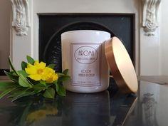 Cocoa Vanilla & Cassia Scented Candle