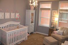 Kate's Pink & Gray Elephant Nursery | Project Nursery