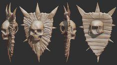 Fleshy Shield Sculpt by samdrewpictures.deviantart.com on @deviantART