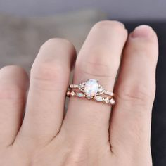 Silver Engagement Rings, Band Engagement Ring, Wedding Rings, Wedding Band, Wedding Stuff, September Birthstone Rings, Ethiopian Opal Ring, Sapphire Wedding, Opal Jewelry