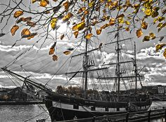 On the River Photograph Sale Poster, Dublin Ireland, Sailing Ships, Fine Art Prints, Boat, River, Wall Art, Photography, Beautiful