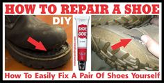 If your favorite pair of work boots, skate shoes, or tennis shoes have become worn, here are a few easy DIY methods you can do to repair them yourself. Most shoes begin to show wear when the sole starts to come off of the shoe. Another sign of wear is when a tear has started …
