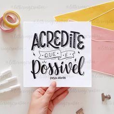 Lettering Tutorial, Gratitude Quotes, Positive Quotes, File Decoration Ideas, Schrift Design, Diy Letters, Instagram Blog, Typography Quotes, Letter Art