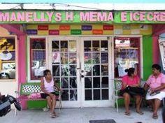 Manelly's Ice Cream--San Pedro, Belize, CA