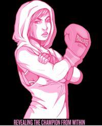 Image result for pink gloves boxing