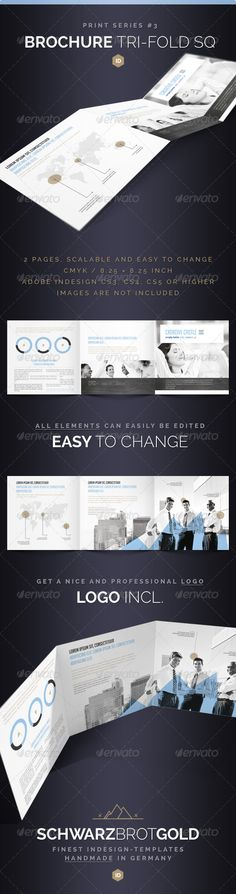 multi page brochure template - 1000 images about web graphic design on pinterest