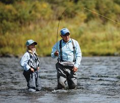 Want to try something new this summer? Try fly-fishing out in the mountains #fishing #mountains #flyfishing