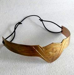 $33 Cheap crown headband, Buy Quality headband accessories directly from China leather headband Suppliers: 2017 Movie Wonder Woman Diana Prince Superheroine Gold Cosplay Leather Crown Headband Porps Accessories Halloween