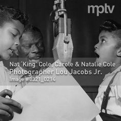 Nat King Cole and Natalie Cole #mptvimages