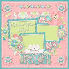 Scrapbooking TammyTags -- TT - Designer - Creative Elegance Designs, TT- Item - Quick Page, TT - Theme - Spring or Easter