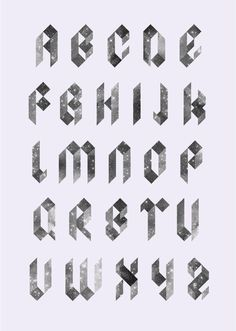 Typography These Blackletter Stars Take Antique Letterforms Into The Future