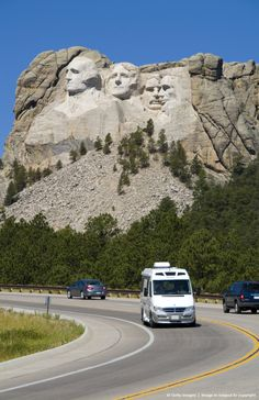 Mount Rushmore, South Dakota....this was a fun place to see.