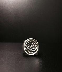 rose ring silver ring 장미 반지 쥬얼리브랜드 AdaMons