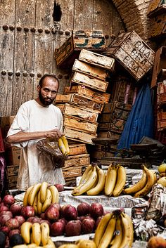 Local Market in Fes, Morocco - photo by Sonja Blanco