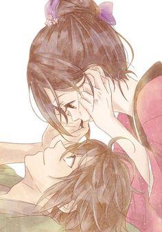anime couple: