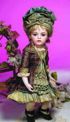 Free dolls dress sewing patterns for antique bisque dolls
