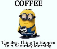 This tired mom lives on coffee, here are a few of my favoritets and how I make it through life with my coffee. Minion Jokes, Minions Quotes, Coffee Quotes, Coffee Humor, Funny Coffee, Scary Meme, Monday Coffee, Friday Meme, Coffee Is Life