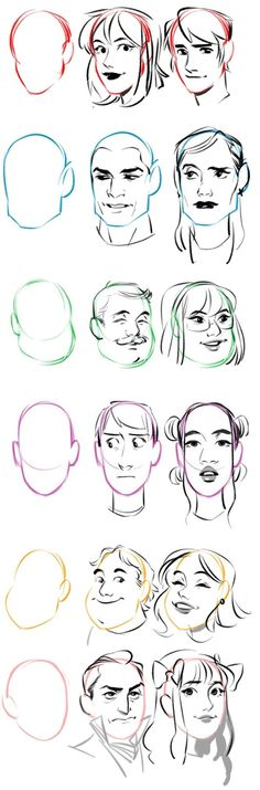Fashion Illustration Tutorial Face Character Design 16 New Ideas Drawing Sketches, Art Drawings, Drawing Tips, Sketching, Poses References, Digital Art Tutorial, Drawing Reference Poses, Anatomy Drawing, Drawing Techniques