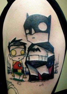 The Best DC Comics Tattoos