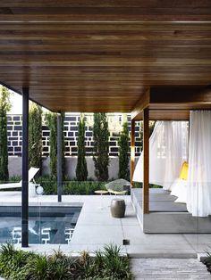 Breezy indoor/outdoor modernism | Concrete House | Melbourne, Australia | Matt…